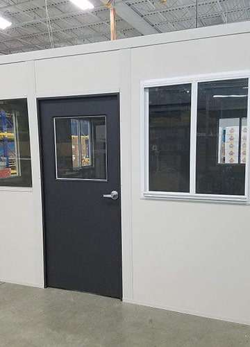Warehouse Steel Partitions
